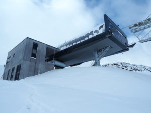 Waidoffen chairlift top station