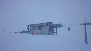 8erJet BergStation, Hochfügen