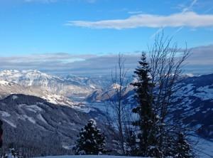 Looking down the Zillertal